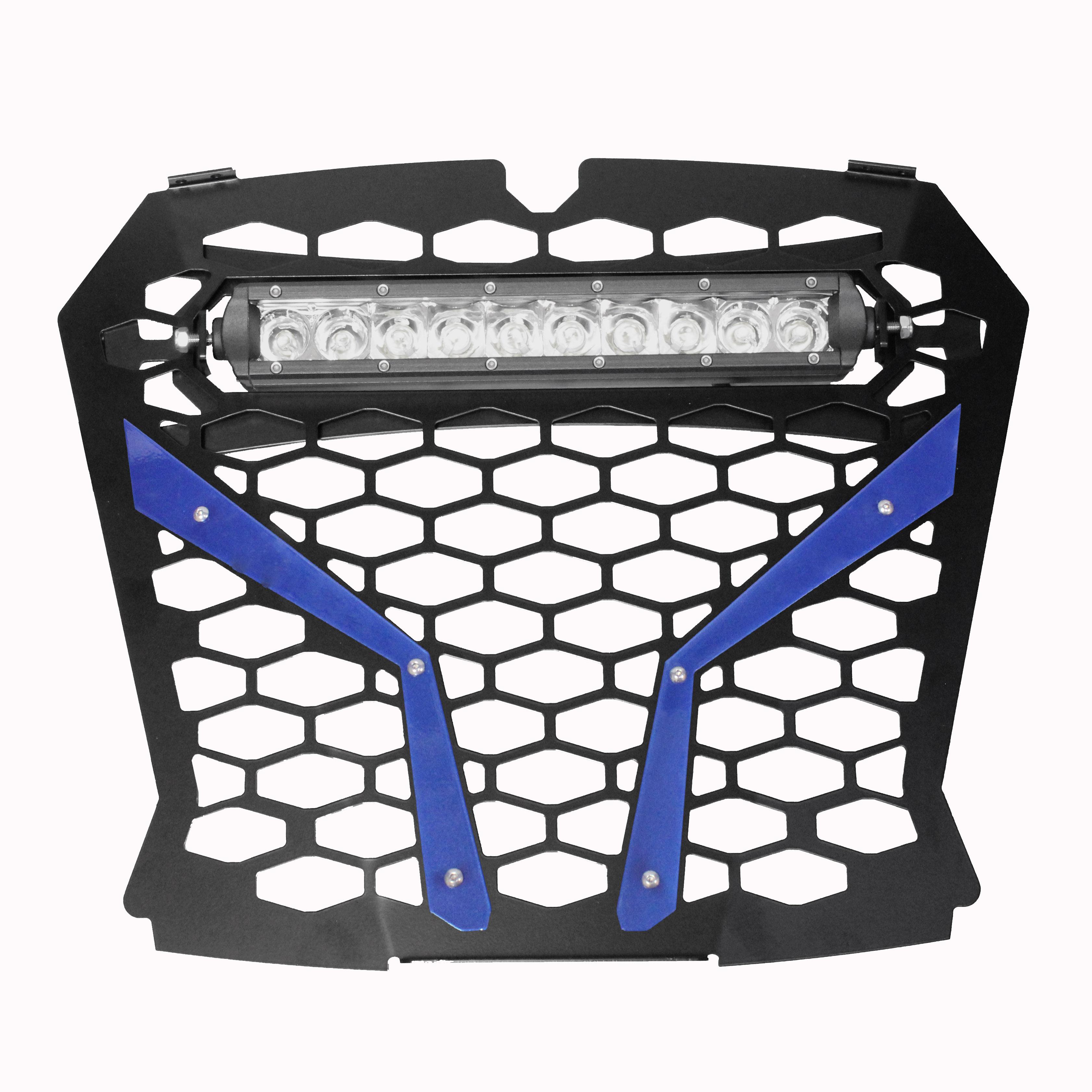 Gear Shift Knob Grip ModQuad Blue RZR-GRIP-BL